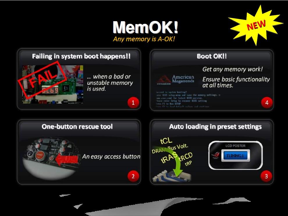 Feature: MemOK!