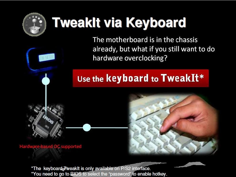 Feature: TweakIT