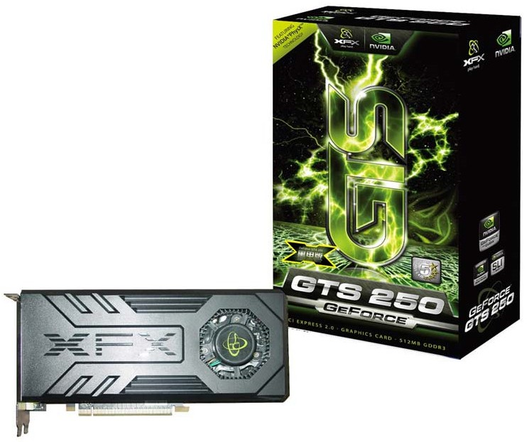 XFX GeForce GTS 250