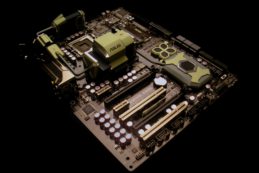 ASUS Marine Cool Konzept-Mainboard