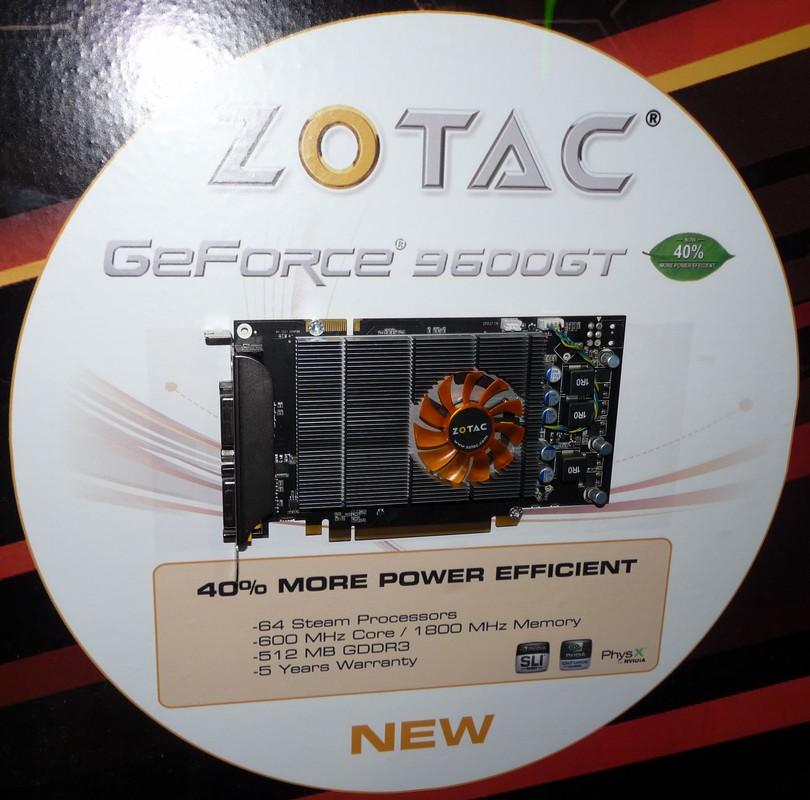 Zotac 9600 GT Eco