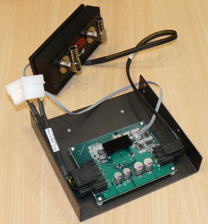 TEC-Kühler mit Controller