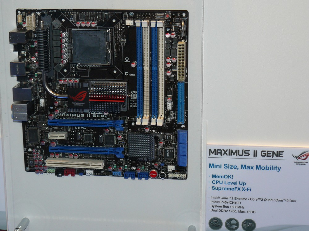 ASUS Maximus II Gene