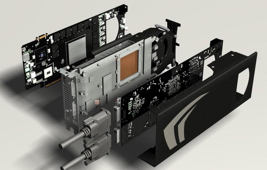 Aufbau der GeForce GTX 295
