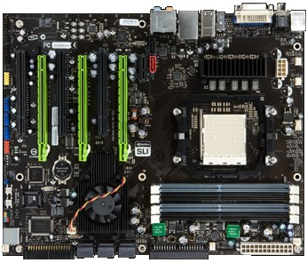 nForce 980a SLI Referenzmainboard
