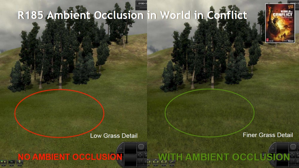 Ambient Occlusion in World in Conflict