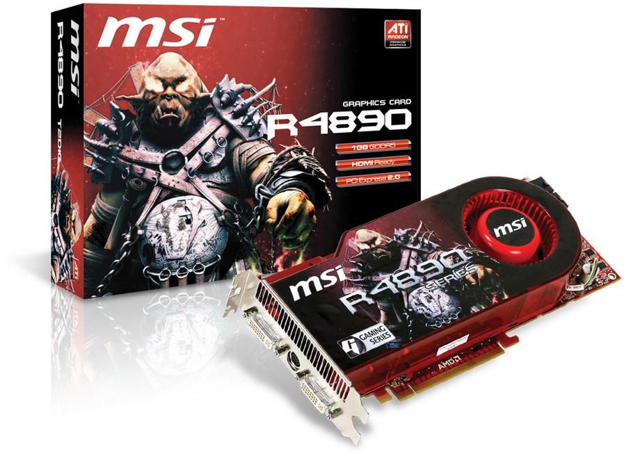 MSI R4890-T2D1G-OC
