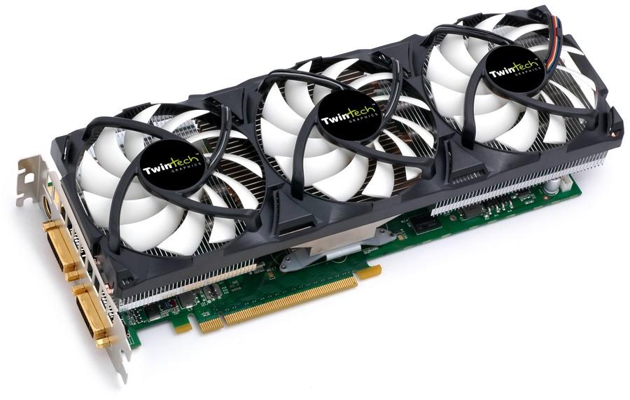 TwinTech GeForce GTX 275 AC Triple Fan XT OC Edition