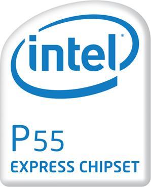 Intel P55 Chipsatz - Fotomontage
