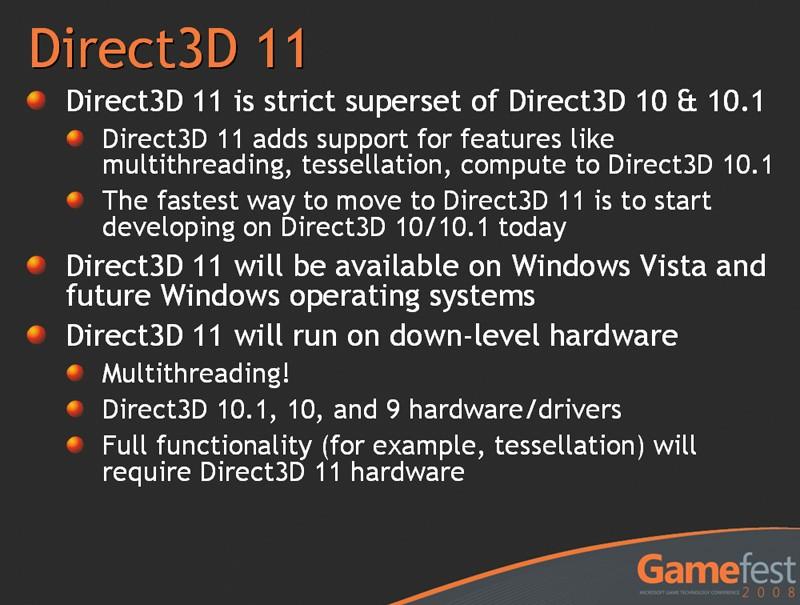 Details zur Direct3D 11 Programmierschnittstelle