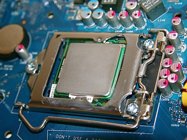 Intel Lynnfield Prototyp