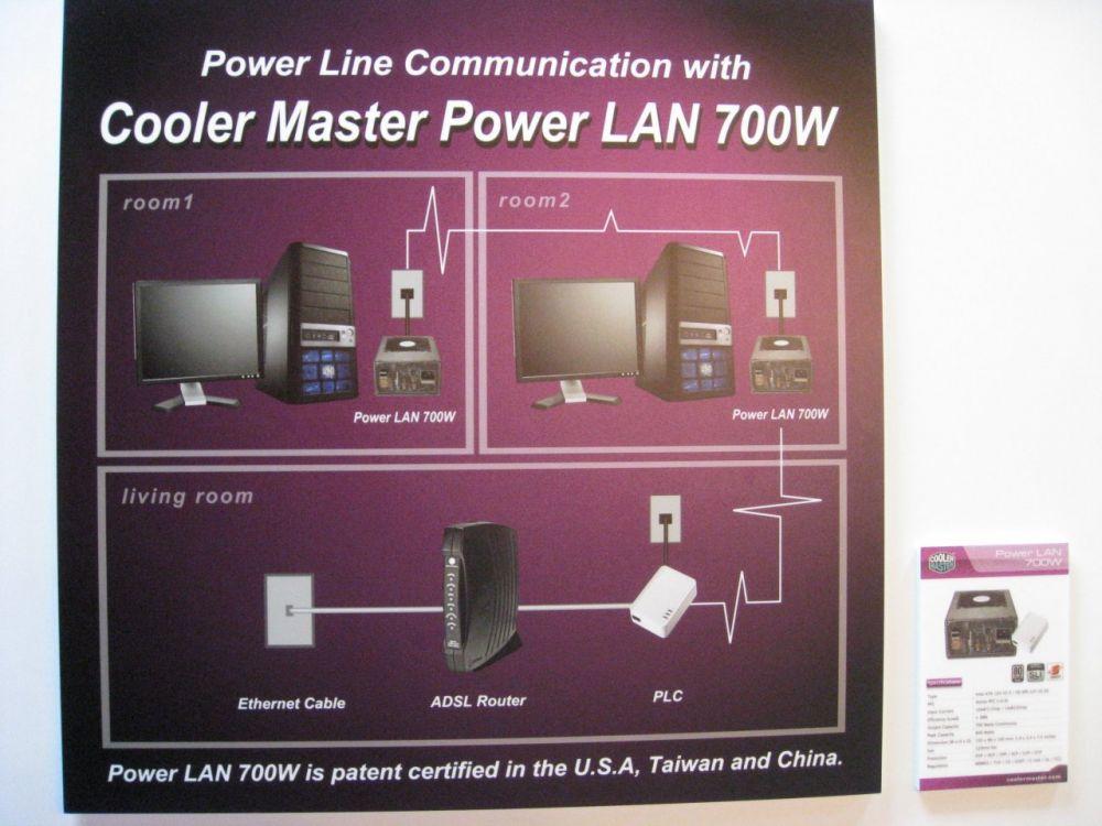 Das Prinzip vom Cooler Master Power LAN 700W Netzteil