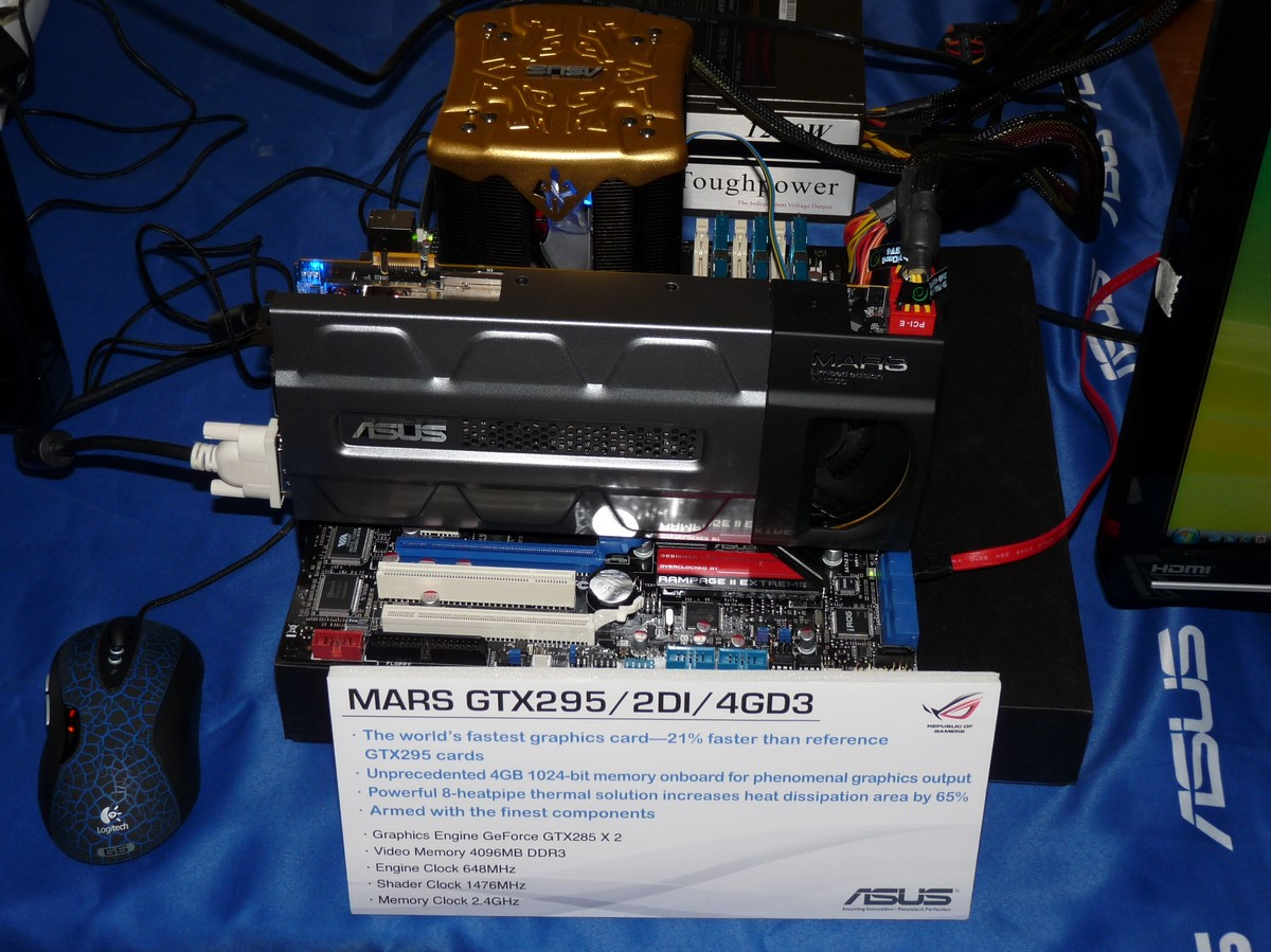 ASUS ROG MARS GTX 295 Limited Edition