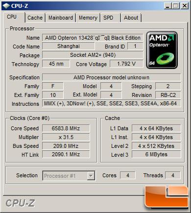 AMD Phenom II 42 TWKR - Bildquelle: LegitReviews