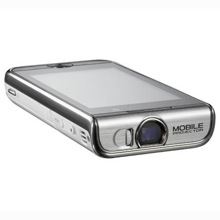 Samsung I7410: Touchscreen-Handy mit integriertem Mini-Beamer