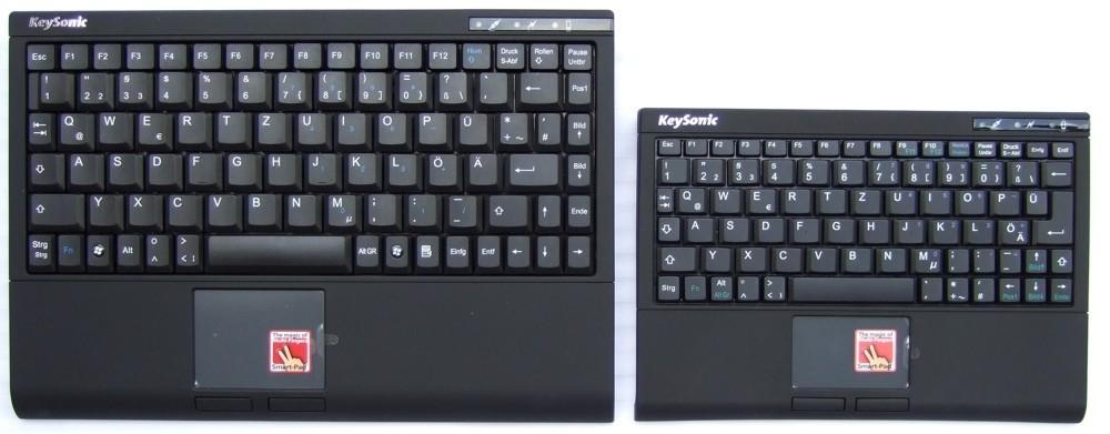 Keysonic ACK-540 RF+ und ACK-340 RF+