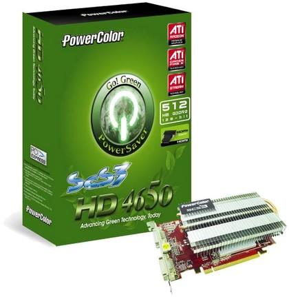 PowerColor Go! Green SCS3 HD4650