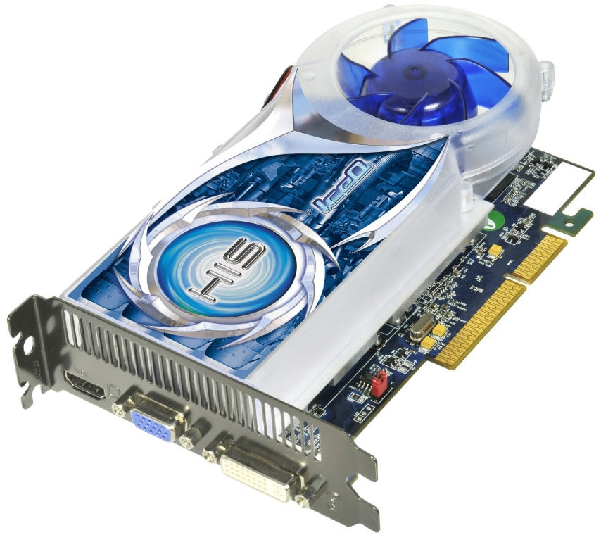HIS Radeon HD 4670 IceQ 1GB AGP
