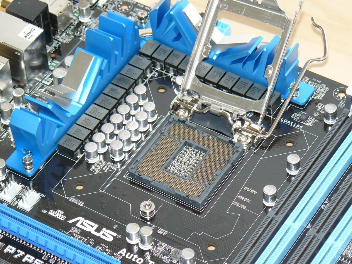 LGA1156 Sockel für kommende Intel Lynnfield CPUs