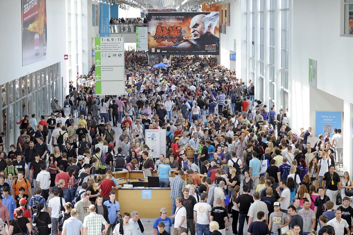 Gamescom Besucher