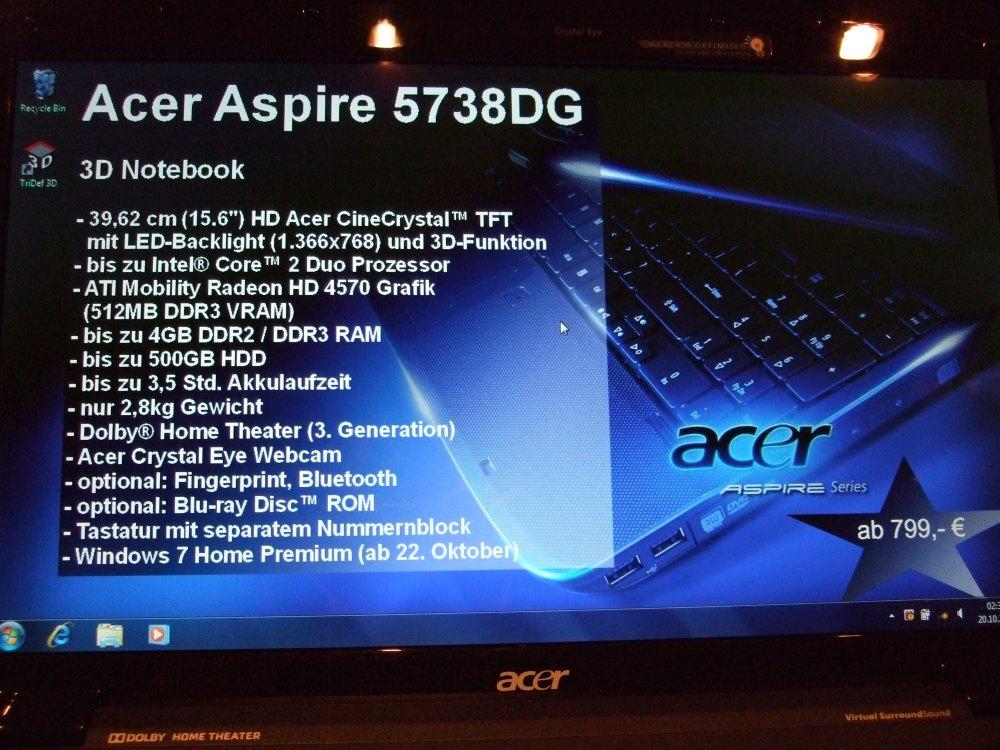 Aspire 5738DG