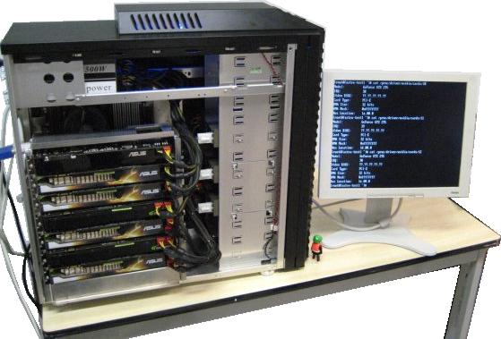 FASTRA II Supercomputer - Bildquelle: DV Hardware