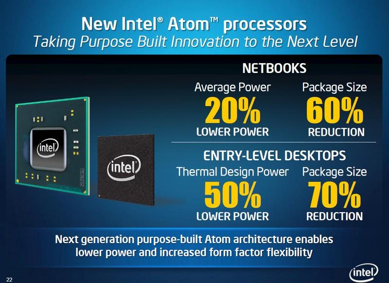 Intel: Vorteile der neuen Atom Plattform