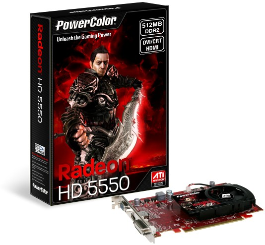 PowerColor HD5550
