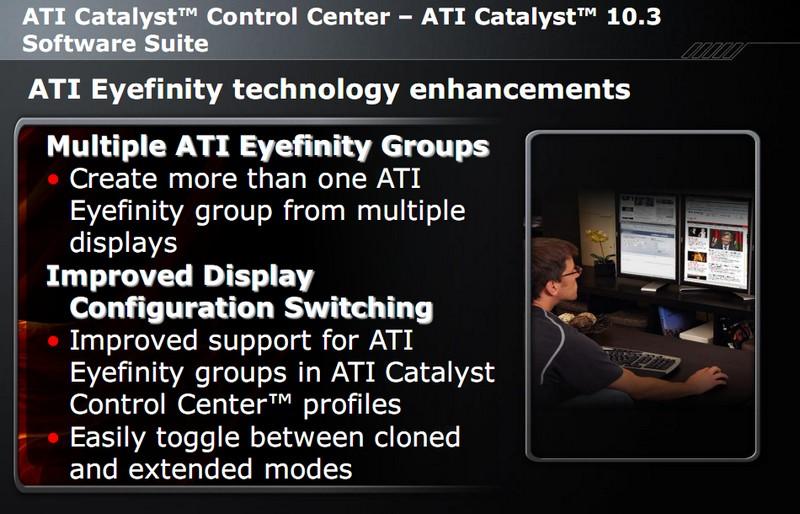 Verbesserungen für ATI Eyefinity