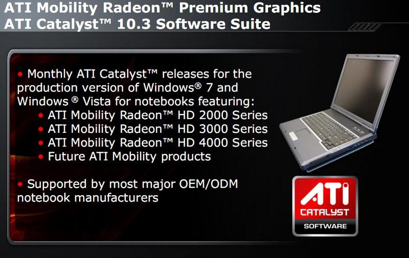 Monatliche Updates für ATI Mobility Radeon Anwender