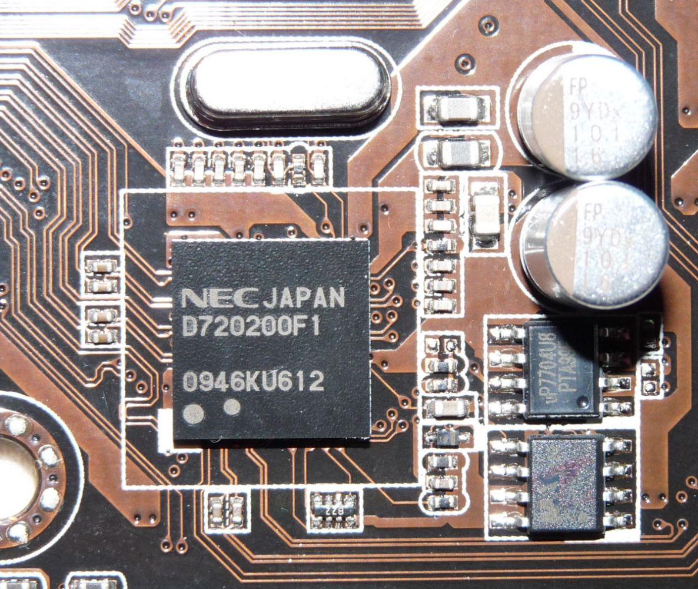 USB 3.0 Chip von USB auf Mainboard