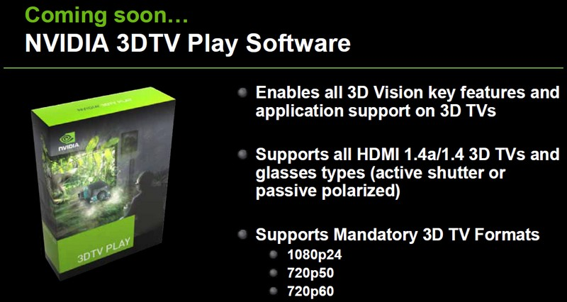 3DTV Play Features