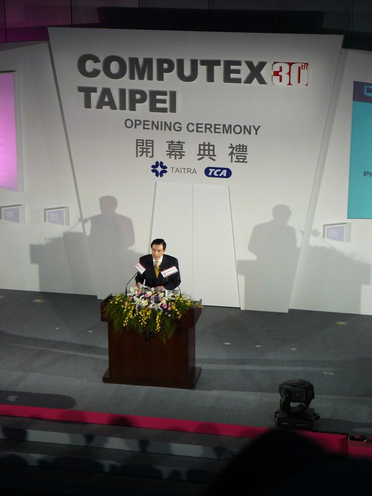 Der Präsident von Taiwan