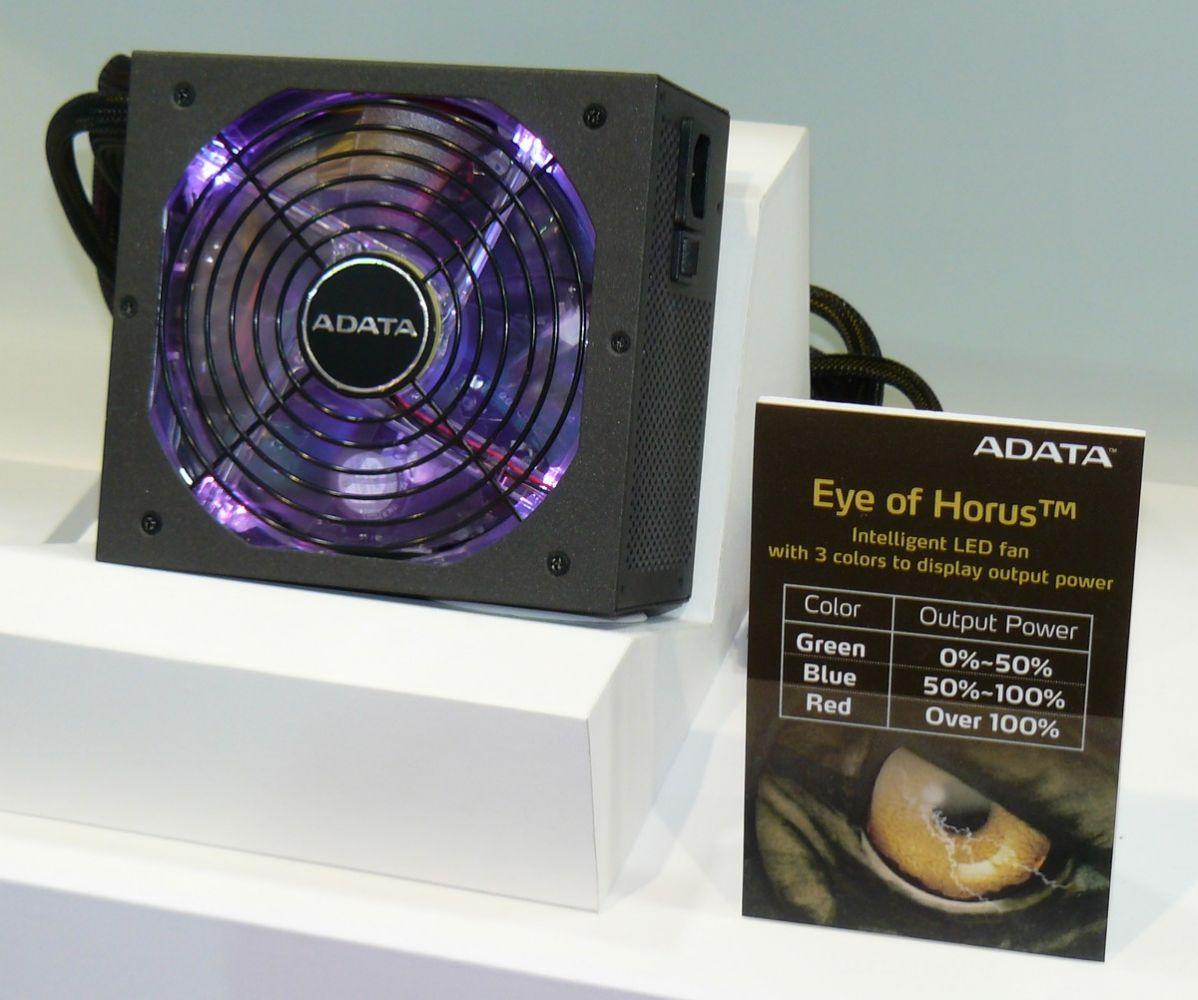 ADATA Eye of Horus Netzteil mit Beleuchtung