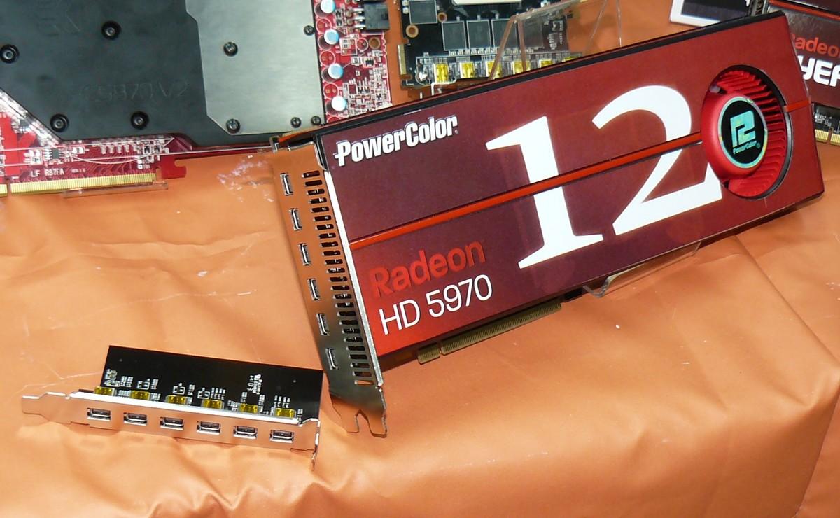 PowerColor Radeon HD 5970 Eyefinity 12