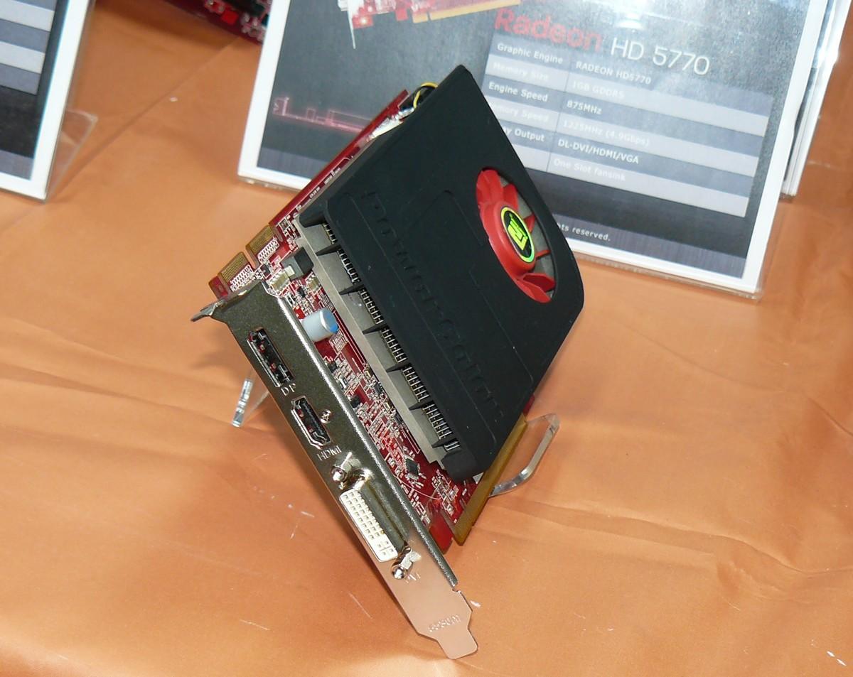 PowerColor Radeon HD 5770 Single-Slot