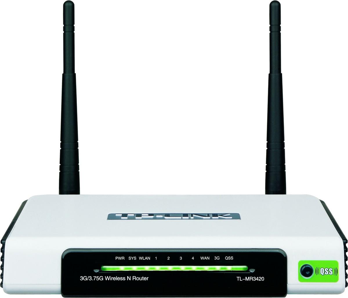 WLAN-/UMTS-Router TL-MR3420 mit 300 MBit/s und automatischem ...