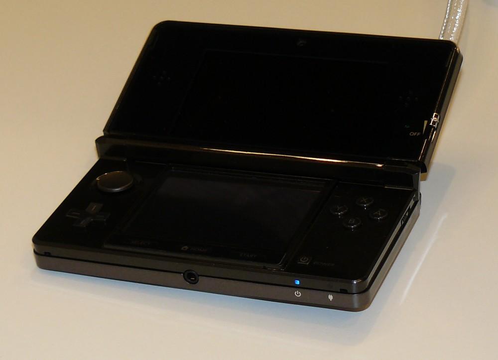 Nintendo 3DS offen