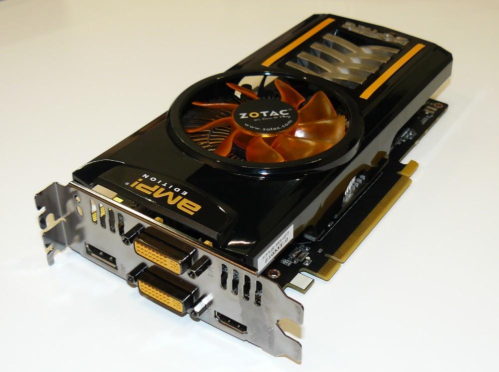 Zotac GTX 460 AMP!