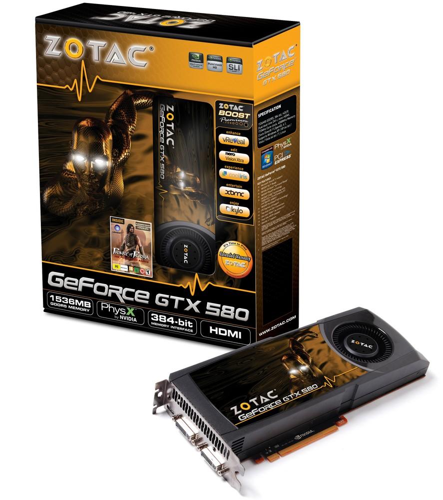 GeForce GTX 580 von Zotac