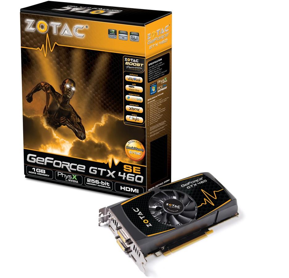 Zotac GeForce GTX 460 SE