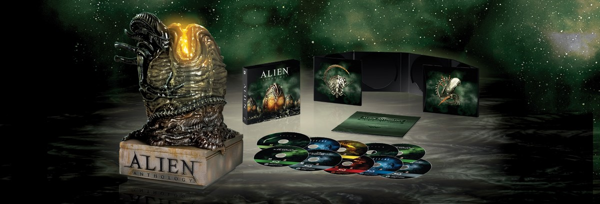 Alien Anthology Limited Edition Egg Blu-ray