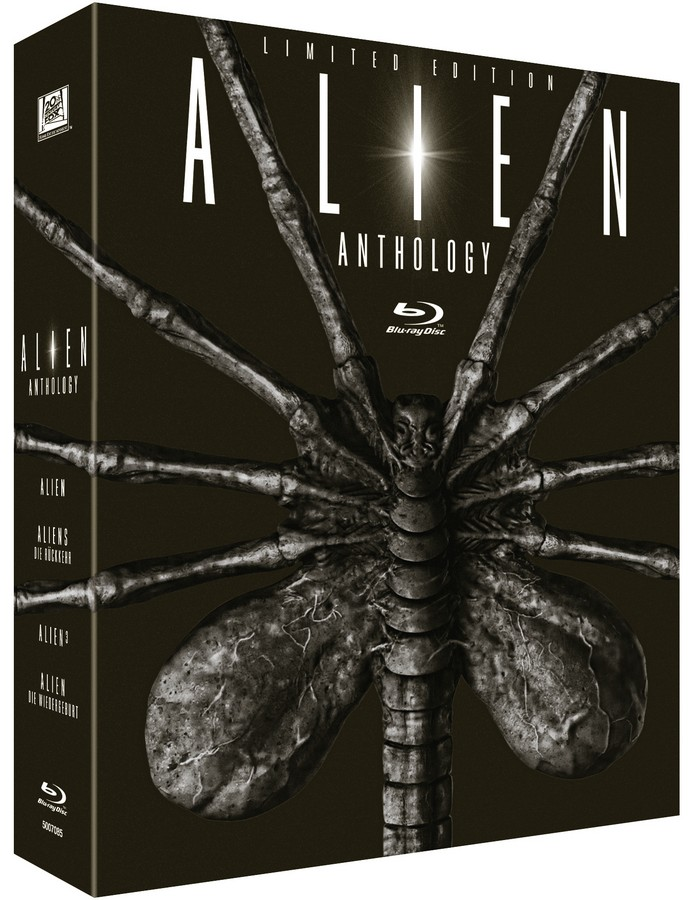 Alien Anthology Facehugger Edition Egg Blu-ray