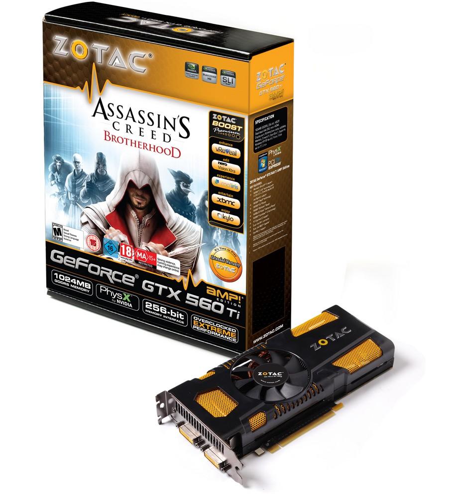 Zotac GeForce GTX 560 Ti AMP! Edition