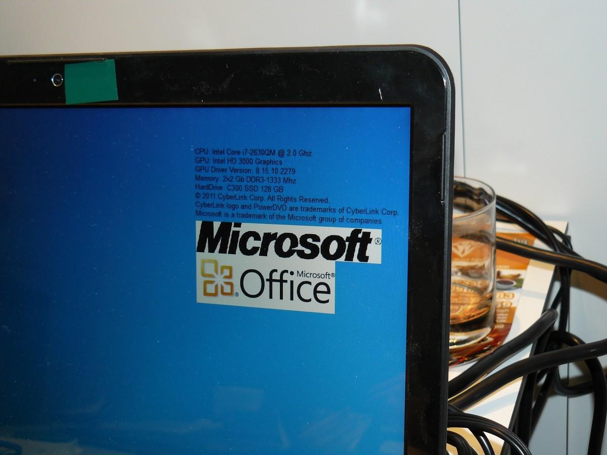 Intel Core i7 Systeminfos