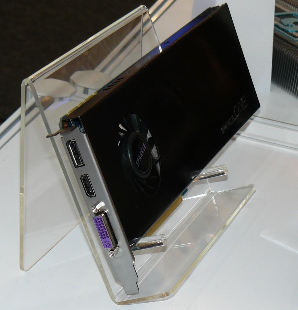 Sparkle Calibre GeForce GTX 570 Single-Slot