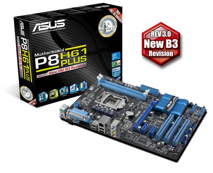 ASUS P8H61 Plus