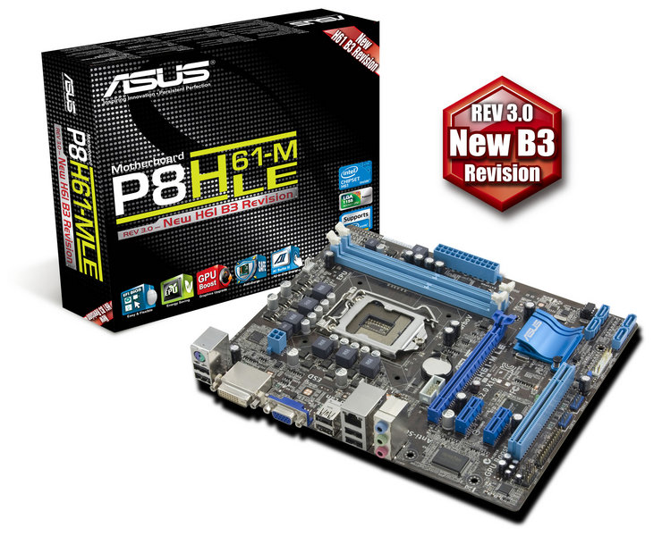 ASUS P8H61-M LE