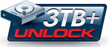 Gigabyte 3TB+ Unlock