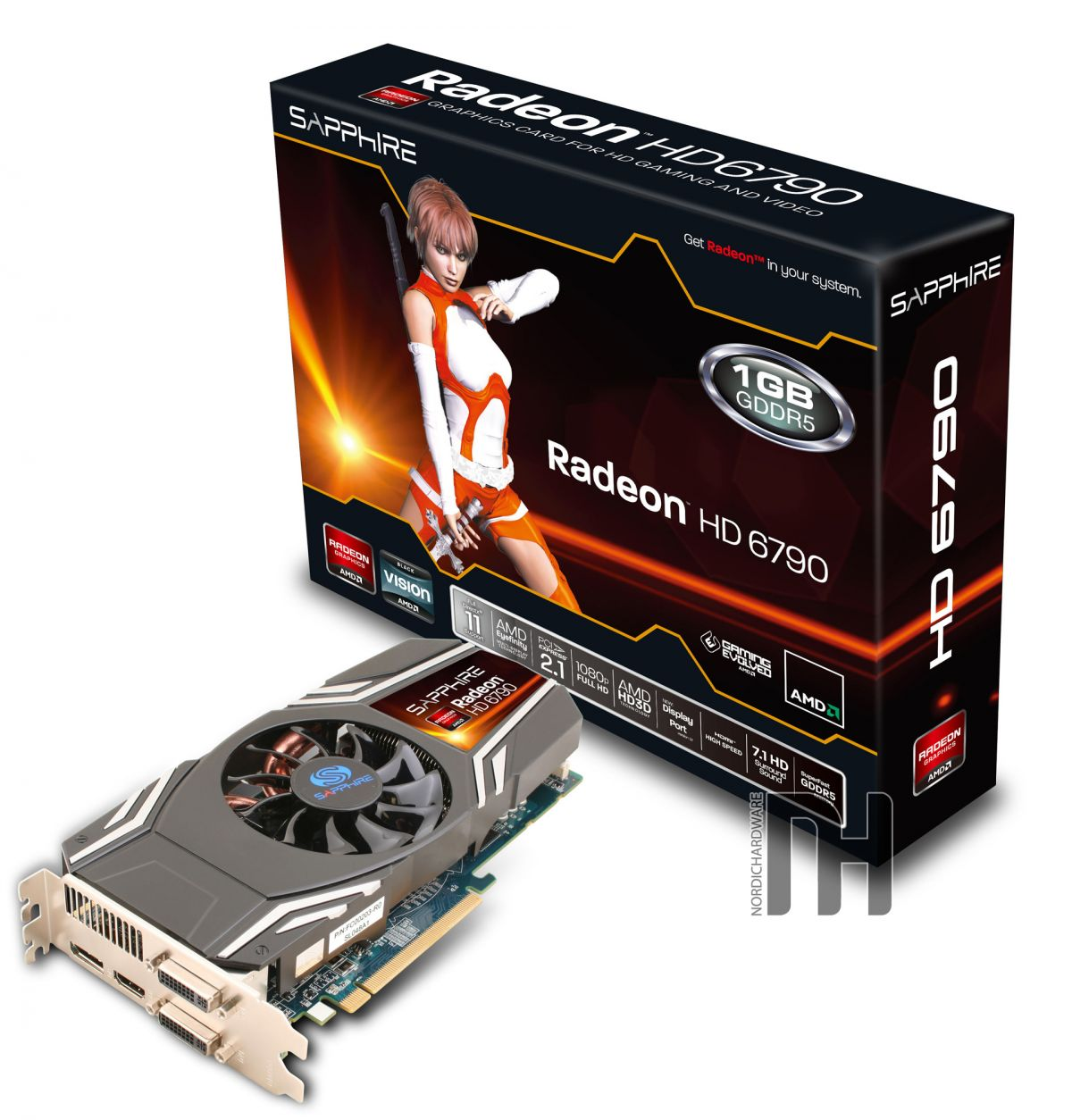 Sapphire Radeon HD 6790 (nordichardware.com)
